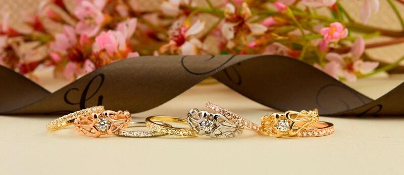 Morganite, Aquamarine, Diamond Rings